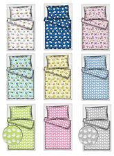 Kinder-Bettwäschegarnituren mit Tier-Thema aus 100% Baumwolle