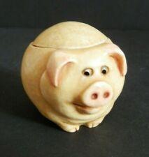 "Harmony Ball Pot Bellys ""Biggie"" Pig Trinket Box Made in China 2001"