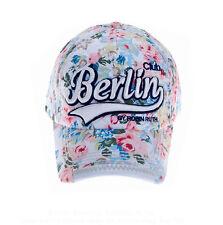 ROBIN RUTH Basecap Berlin Colors NEU Mütze Baseball-cap Weiss neon 2015 City Cap