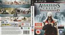 Assassin's Creed Brotherhood Special Edition - Sony PS3 Game - vgc BA
