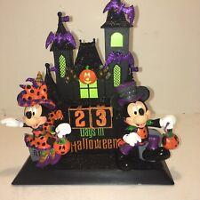 Disney Parks Halloween Countdown Calendar Mickey & Minnie Haunted House