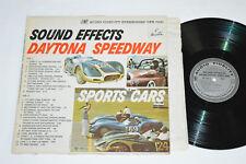 SOUND EFFECTS Daytona Speedway Sports Cars LP Vinyl Audio Fidelity DFS7031 VG/G+