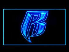 Ruff Ryders Bar Pub Ads Led Light Sign B