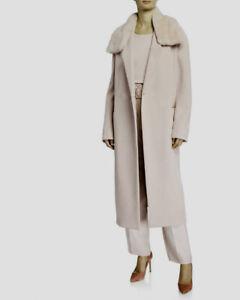 Gian Franco Ferre Zipped Long Hoodie Coat