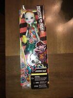 NIB Monster High LAGOONA BLUE Doll Daughter of Sea Monsters Wow Skull Dress