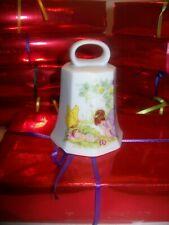 CRYSGLASS PORCELAIN FAIRY/BABY BELL, MALTA