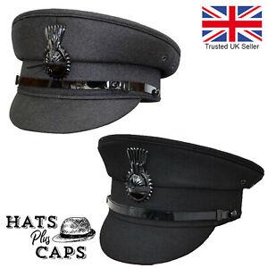 Mens Quality Formal Chauffeur Hat Professional Chauffer Drivers Cap