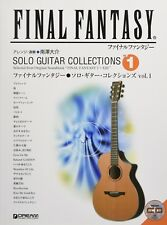 Final Fantasy Solo Guitar Score Collections Book Vol.1 with CD 26 track
