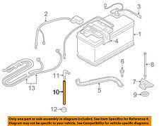 BMW OEM 14-17 X5 3.0L-L6 Battery-Drain Hose 61211377745