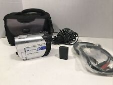 New ListingSony HandyCam Dcr-Dvd108 Digital Camcorder 40x Zoom w/Battery Charger Case More