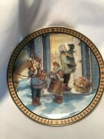 """Trisha Romance - Limited Edition Collector's Plate  - """"A Gift to Treasure"""" - 8"""""""