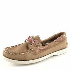 Sperry Top-Sider Brown Leather Boat Shoes Women's Size 6 M
