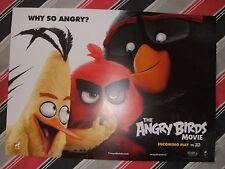 ANGRY BIRDS MOVIE A3 POSTER Cinema Film NEW Unfolded Sony XBox Disney Star Wars