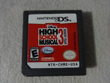 EUC High School Musical 3 Senior Year Nintendo DS Game Cartridge Only Free Ship
