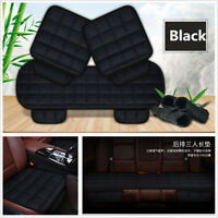 3Pcs Comfortable Bamboo Charcoal Non-Woven Fabrics Car Seat Cover Cushion Pads