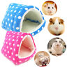 Small Animal Soft Bed Cave Warm Nest for Hamster Guinea Pig Squirrel Hedgehog