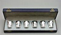 6 antike Silberbecher Schnapsbecher 835er Silber Wilhelm Binder (118)