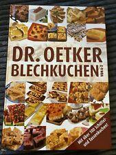 Dr. Oetker Blechkuchen Backbuch neuwertig