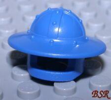 HR47) 4 Stück Nexo Knights Königliche Wache Ritter Helm blau 30273 & unbespielt