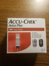 Accu-Chek Aviva Plus 100 Retail Test Strips Free Shipping 11-30-2020