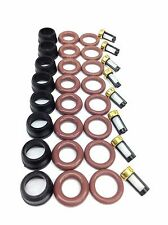 FUEL INJECTOR REPAIR KIT O-RINGS FILTERS PINTEL CAPS GMC CHEVY TRUCK 25317628
