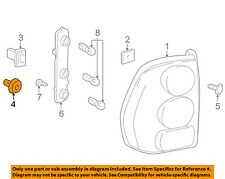 GM OEM Taillight Tail Light-Rear-Retainer Grommet 15289020