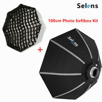 100cm Portable Bowens Mount Octagon Umbrella Softbox + Honeycomb Grid for Photo
