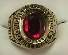 """10K SOLID GOLD """"800"""" GAME BOWLING RING SIZE 11"""