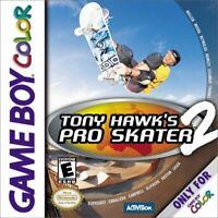 Tony Hawk's Pro Skater 2 - 2000 Activision - Nintendo Game Boy Color