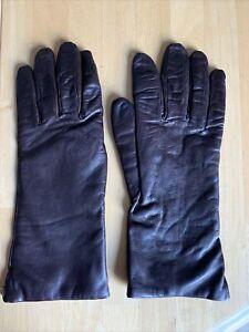Sermoneta Ladies Gloves Size 8 Brown FREE SHIPPING