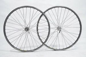 "Mavic Paris Gao Dakar Bicycle Wheelset 36H Very Rare 26"" MTB Trekking"