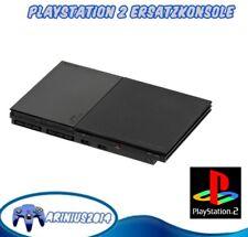 PlayStation 2 PS2 Konsole Slim Slimline 4GB schwarz PAL Ersatzkonsole als Ersatz