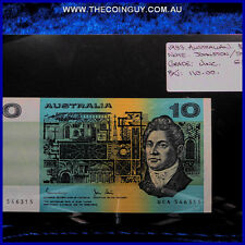 1983 Australian Ten Dollar Notes Unc Johnstone/Stone