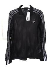 Adidas Originales Alexander Wang Negro Camiseta Top de manga larga Polo XS BNWT RRP £ 105