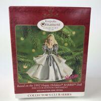 Hallmark Ornament Christmas Happy Holidays Barbie 2000 Club Edition #5