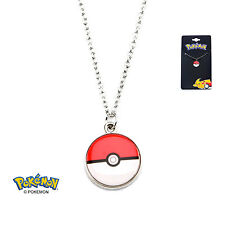 OFFICIAL NINTENDO'S POKEMON POKEBALL PENDANT ON CHAIN NECKLACE (BRAND NEW)