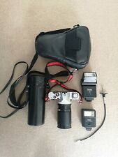 Canon AV-1 35mm SLR Film Camera Lot