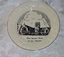 Christ Episcopal Church St Paul Mn Centennial Collector Plate 1850 - 1950