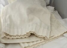 """Pair of Ivory Swirl Curtains 72"""" inches Wide 53"""" inches in Length"""