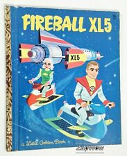 FIREBALL XL5 1964 Little Golden Press Book #546 Gerry Anderson Vintage 1960s