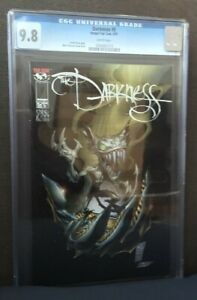 DARKNESS #5 CGC 9.8 IMAGE/TOP COW 6/97 MARC SILVESTRI COVER AND ART