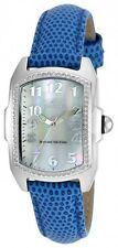 Invicta Lupah Mother of Pearl Dial Blue Leather Ladies Watch 19520