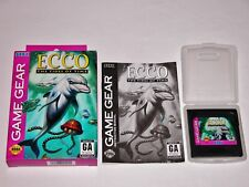 Ecco the Tides of Time Complete - Sega Game Gear CIB **TESTED & WORKS GREAT**