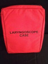 NEW IRON DUCK Laryngoscope Case Orange approx dimensions 17x13x3