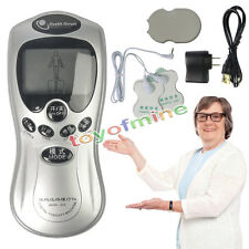 Electrical Acupuncture 4Pad Full Body Massager Digital Therapy Machine w/Charger