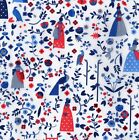 Lotta Nieminen D LIBERTY OF LONDON XL FQ Fabric Autumn Winter 2015 FINLAND Blue