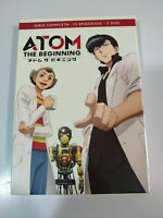 Atom The Beginning Serie Completa - Anime manga 12 Episodios - 3 X DVD 2T