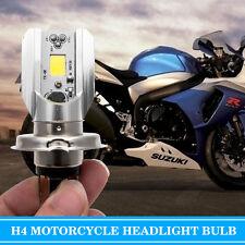 2pcs H4 LED Ampoule HID Blanc 360 ° haute / basse faisceau Phare Moto 6500K Pro