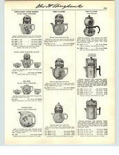 1941 PAPER AD Flying Geese Coffee Brewer Tea Pot Sets Water Jug Flamingoes