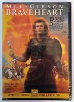 Braveheart (DVD, 2000) New/Sealed Mel Gibson Oscar Winner Best Picture